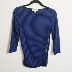 Michael Kors Sexy Zippered Accent Top...S